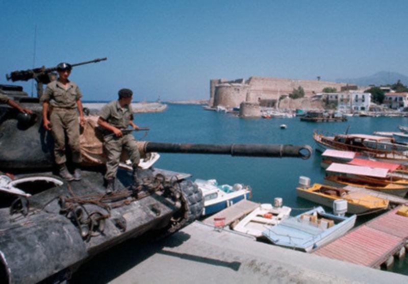 Invasión turca a Chipre