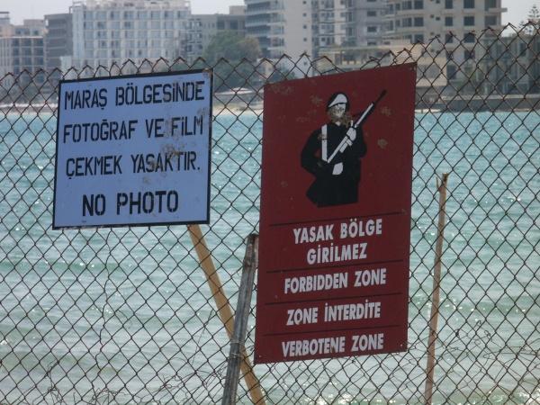 Frontera impuesta por los Turcos