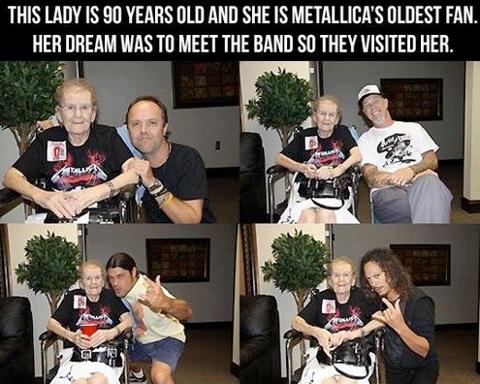 Una mujer de 90 años cumple uno de sus sueños….