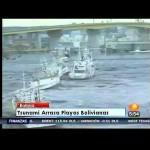 Tsunami acaba con las playas bolivianas (21 de diciembre de 2012)