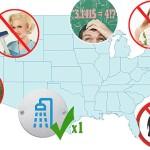 Leyes insólitas en Estados Unidos de América
