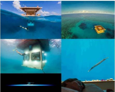 El manta resort hoteles bajo el agua noticias insolitas for Hoteles bajo el agua espana