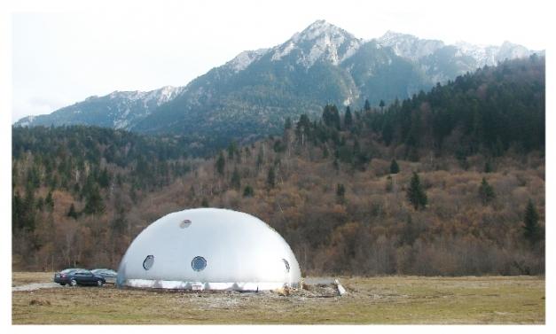 Casa futurista en Rumanía