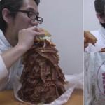 Un hombre ordena una hamburguesa de 2.7Kg y 1050 tiras de tocino