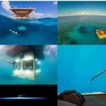 El Manta Resort, hoteles bajo el agua